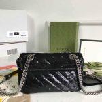 gucci-446744-gg-marmont-mini-shoulder-sequin-bag-black-7