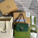 gucci 446744 gg marmont multicolor mini shoulder bag 10