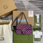 gucci 446744 gg marmont multicolor mini shoulder bag 29