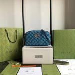 gucci 447632 gg marmont multicolour small shoulder bag 12