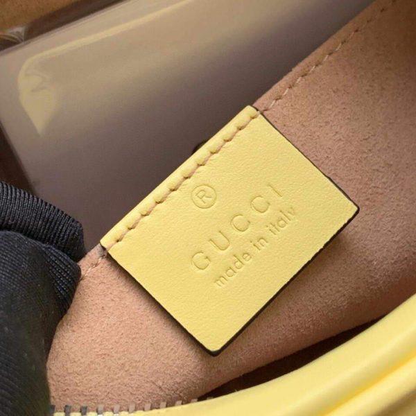 Gucci 448065 GG Marmont Matelassé Mini Bag Yellow - luxibagsmall