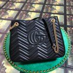 gucci-453569-gg-marmont-matelasse-shoulder-bag-black-1