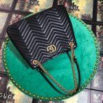 gucci-453569-gg-marmont-matelasse-shoulder-bag-black-2