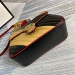 gucci-498110-gg-marmont-small-top-handle-bag-black-and-yellow-3