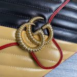 gucci-498110-gg-marmont-small-top-handle-bag-black-and-yellow-5