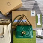 gucci-498110-gg-marmont-small-top-handle-bag-green-0
