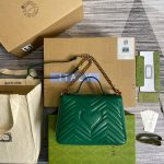 gucci-498110-gg-marmont-small-top-handle-bag-green-1