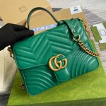gucci-498110-gg-marmont-small-top-handle-bag-green-3