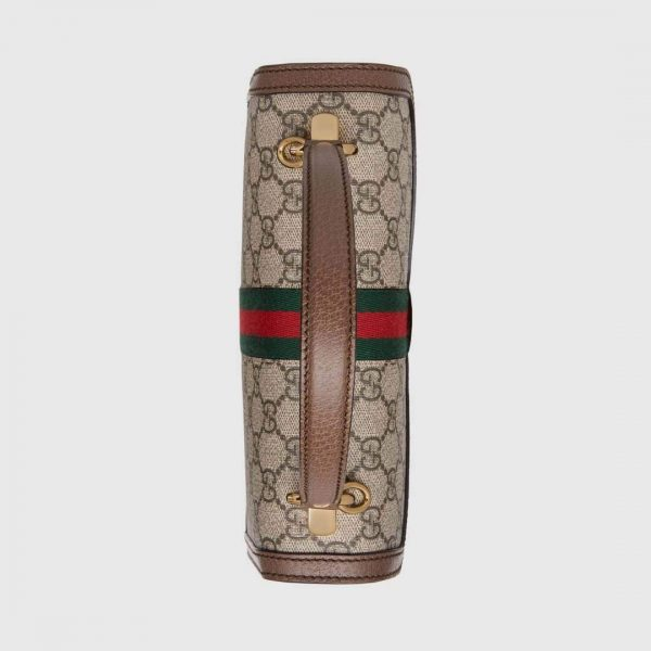 Gucci 524405 GG Ophidia Small Top Handle Bag With Web - luxibagsmall