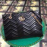 gucci-524578-gg-marmont-matelasse-shoulder-bag-black-0