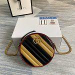 gucci 550154 gg marmont mini round shoulder bag 10