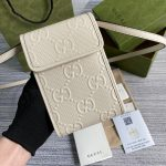 gucci 625571 gg embossed mini bag 1