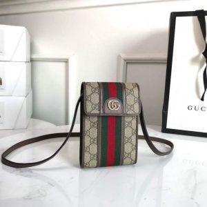 gucci 625757 ophidia mini bag brown 0