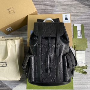 gucci 625770 gg embossed backpack 1