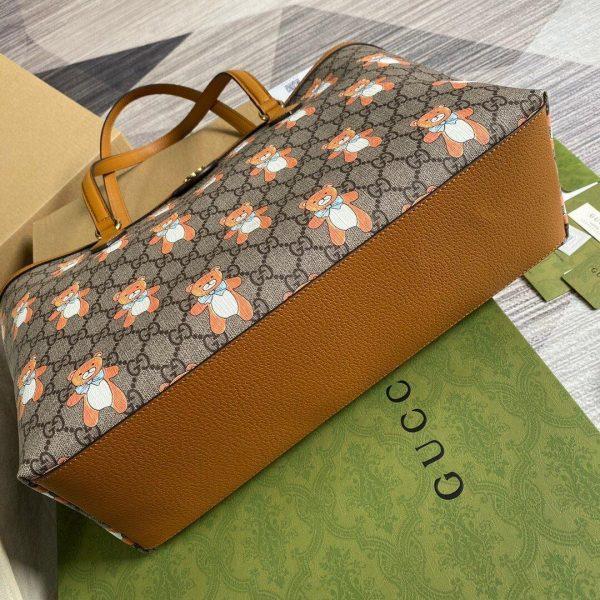 Gucci 631685 Ophidia GG KAI Medium Tote Bag Tan - luxibagsmall