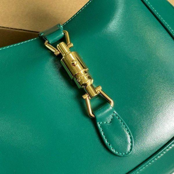 Gucci 636709 GG Jackie 1961 Small Hobo Shoulder Bag Green - luxibagsmall