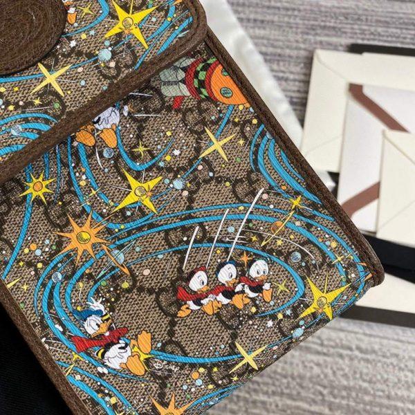 Gucci 647927 Disney x Gucci Donald Duck mini bag Brown - luxibagsmall