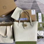 gucci 649577 medium tote with double g 1