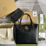 gucci 649577 medium tote with double g 10
