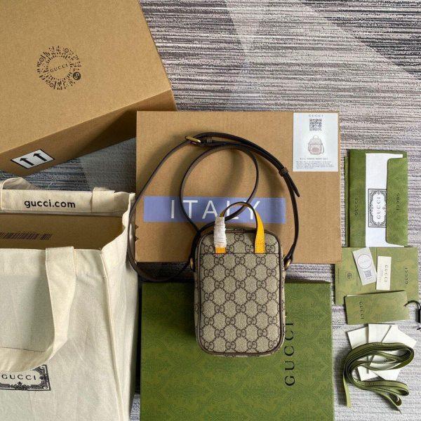 Gucci 658556 Gucci Neo Vintage Mini Bag Brown - luxibagsmall