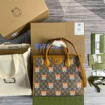 gucci-660531-gg-kai-cooperation-teddy-bear-tote-bag-tan-2
