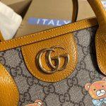 gucci-660531-gg-kai-cooperation-teddy-bear-tote-bag-tan-5