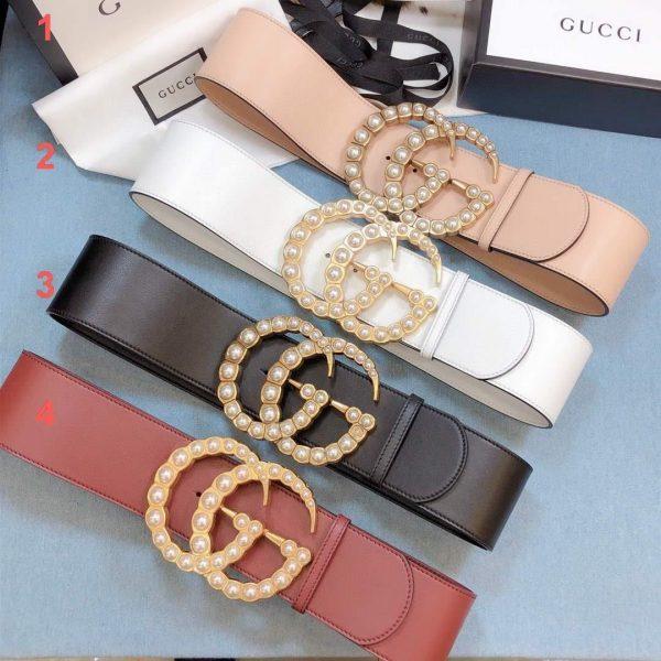Gucci Belts Designer GG Buckle Leisure Belt Wide 7 0cm AA0461 - Voguebags