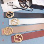 Gucci Belts Designer GG Buckle Leisure Belt Wide 7 0cm AA0465 - Voguebags