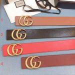 Gucci Belts Designer GG Buckle Leisure Belt Wide 7 0cm AA0466 - Voguebags