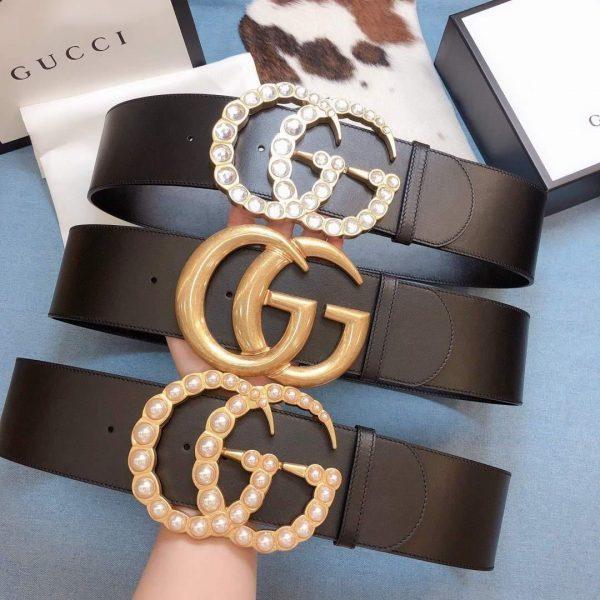 Gucci Belts Designer GG Buckle Leisure Belt Wide 7 0cm AA0467 - Voguebags