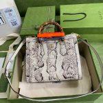 gucci diana small tote bag top handle bag 660195 grey 2