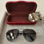 Gucci Sunglasses Luxury Gucci Sport Fashion Show Sunglasses 992166 - Voguebags