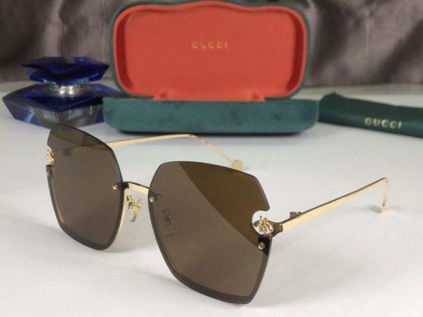 Gucci Sunglasses Luxury Gucci Sport Fashion Show Sunglasses 992191 - Voguebags