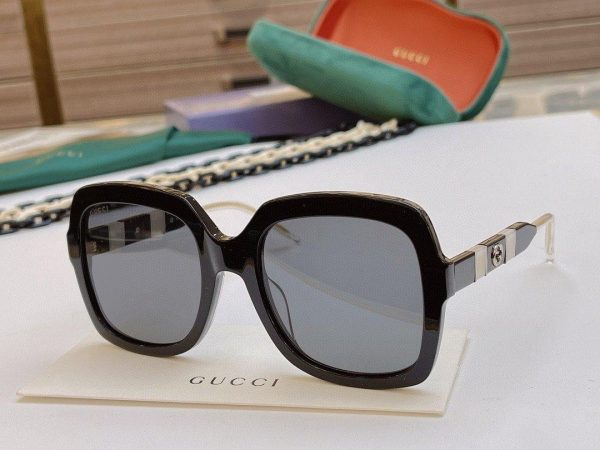 Gucci Sunglasses Luxury Gucci Sport Fashion Show Sunglasses 992197 - Voguebags