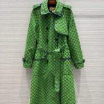 gucci womens clothing gg nylon jacket 10