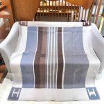 Hermes Avalon Rocabar Cashmere Blanket 29911 - Voguebags