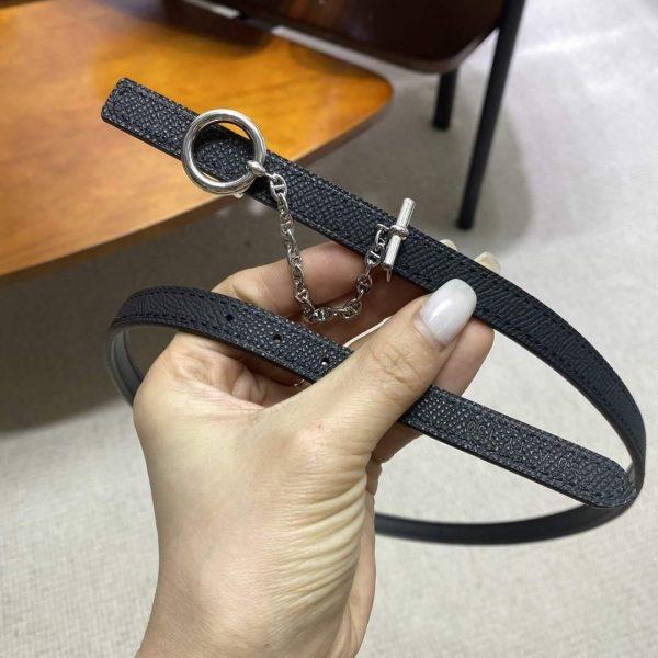 Hermes Women's Reversible Leather Belt 13MM 19012 - luxibagsmall
