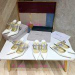 Jimmy Choo Women's Sandals BRESLIN Jimmy Choo Slippers 81150 White - Voguebags