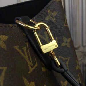 Louis Vuitton M44020 NeoNoe MM Monogram Canvas M43570 Bag Black - Voguebags