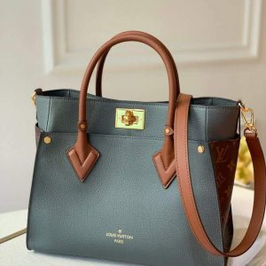 louis vuitton m55302 lv m53823 on my side mm m53825 high end leathers bag gray 1