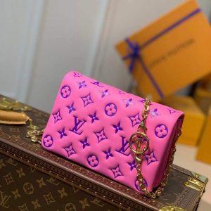 louis vuitton m80745 pochette coussin lv m80742 pink purple 2