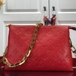 LV M57792 Louis Vuitton Coussin PM Bag M57936 M57913 Red - luxibagsmall