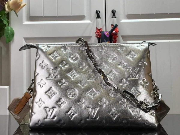 LV M57913 Louis Vuitton Coussin PM Bag M57936 M57792 Silver - luxibagsmall