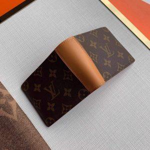 LV M69024 Louis Vuitton Mul Tpile Wallet Monogram Brown - luxibagsmall