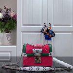 Louis Vuitton M90566 LV Wynwood Monogram Vernis Bag M90516 Plum - Voguebags