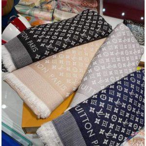 lv scarves louis vuitton monogram shawl scarf 21