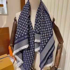 lv scarves louis vuitton monogram shawl scarf 4