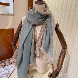 lv scarves louis vuitton monogram shawl scarf 45