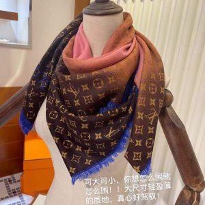 lv scarves louis vuitton monogram shawl scarf 67